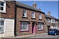 TF0920 : House with decorative doorcase by Bob Harvey