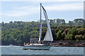 SX4553 : Sailing through The Narrows by Stephen McKay