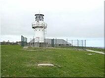 NJ9967 : The modern lighthouse at Kinnaird Head by Oliver Dixon