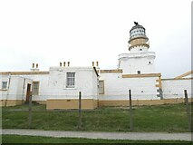 NJ9967 : The old lighthouse at Kinnaird Head by Oliver Dixon