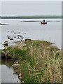 HY3013 : Fisherman, Loch of Harray by Mick Garratt