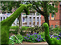 SJ8499 : Manchester Flower Show, Topiary at Angel Meadow by David Dixon