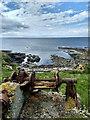 HY2223 : Rusty old winch, Sand Geo by Mick Garratt