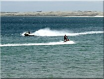 NK0066 : Jet skiers in Fraserburgh Bay by Oliver Dixon
