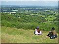 SO7638 : View from Swinyard Hill, Malvern Hills by Chris Allen