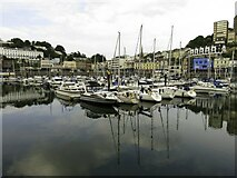 SX9163 : The Old Harbour in Torquay by Steve Daniels