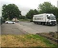 ST3189 : McDonald's articulated lorry, Edwin Street, Crindau, Newport by Jaggery
