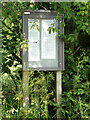 TL8838 : Great Henny Village Notice Board by Geographer