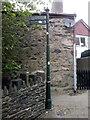 SH6266 : A fingerpost on John Street, Bethesda by Meirion