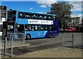 SN7810 : X6 double-decker bus in Ystradgynlais Exchange by Jaggery
