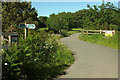 SX8376 : Cycle route near Stover Way Bridge by Derek Harper