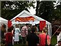 SP3165 : Hindu temple stall, Leamington Peace Festival by Alan Paxton