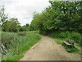 SE1015 : Canal towpath near Linthwaite, Huddersfield by Malc McDonald