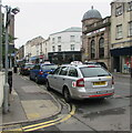 SO8505 : Three taxis, King Street, Stroud by Jaggery