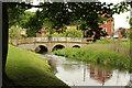 TF9229 : Wensum Bridge by Richard Croft