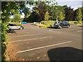SJ3032 : RJ&AH Hospital car park by Richard Hoare