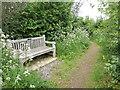 ST9077 : A seat on Tor Hill by Neil Owen