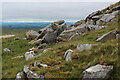 SD6260 : Boulders and Outcrops beside the Hornby Road by Chris Heaton