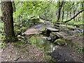 SK3364 : Ford on the Hodgelane Brook by John Walton