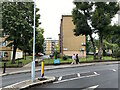 TQ3371 : Roper House end-on, Kingswood Estate, East Dulwich, SE21 by Robin Stott