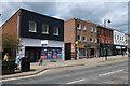 TL6463 : Empty shop, Newmarket High Street by Hugh Venables