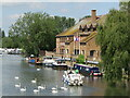 TL1860 : St Neots - River Great Ouse by Colin Smith