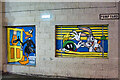 SJ8498 : Looney Tunes Art Trail #11, Daffy, Marvin and Bugs at the Printworks by David Dixon