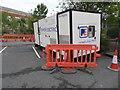 SO8754 : Worcestershire Royal Hospital - portable diesel generator by Chris Allen