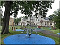 TQ3371 : Play area southwest of Kingswood House, Kingswood Estate, East Dulwich by Robin Stott