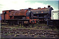 NZ2057 : Tanfield Railway - industrial locomotives waiting to be restored by Chris Allen