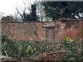 SP2965 : Old door in a garden wall by St Nicholas Park, Warwick by Robin Stott