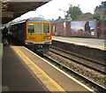 ST1586 : 769008 at platform 2, Caerphilly station by Jaggery