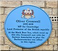 TL4458 : Cambridge - Oliver Cromwell by Colin Smith