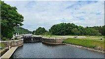 NH6140 : Dochgarroch Lock, Caledonian Canal by Chris Morgan