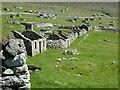 NF0999 : St Kilda - Hirta - Village Street - westernmost houses by Rob Farrow