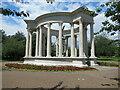 ST1877 : Welsh National War Memorial Alexandra Gardens Cardiff by Roy Hughes