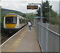 SS8590 : 170202 arriving at Ewenny Road station, Maesteg by Jaggery