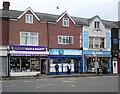 SJ8896 : Shops on Hyde Road, Gorton by Gerald England