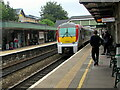 SS9079 : 175009 for Carmarthen arriving at Bridgend Station by Jaggery