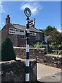 NY5057 : Direction Sign – Signpost in Hayton village by J Kelly