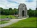 NY5415 : The West Tower, Shap Abbey by Humphrey Bolton