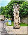 SE0986 : The Forbidden Corner, Giant Wood Man by David Dixon