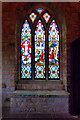 SE0986 : Stained Glass Window in the Tower at the Forbidden Corner by David Dixon