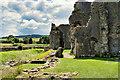 SE1287 : Middleham Castle Ruins by David Dixon