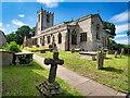 SE1287 : Church of St Mary and St Alkelda, Middleham by David Dixon
