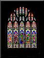 SE1486 : The East Window, St John's Church by David Dixon