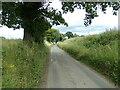 TL8737 : Tymperley Farm Road, Great Henny by Geographer