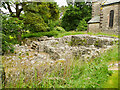NY7204 : Ruins of Gilbertine Cell, Ravenstonedale 1 by Humphrey Bolton