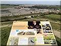 NZ2377 : Shotton Surface Mine & Information Board by David Robinson