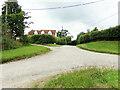 TL8637 : Entrance to Henny Farm & Fenn Farm Road Bridleway by Geographer